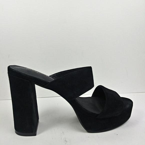 cb293218f641 Jeffrey Campbell Shoes - Jeffrey Campbell Adriana Black Suede Sandals Sz8.5